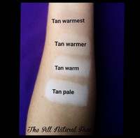 Cool Tone - Tan Warm Vegan Mineral Foundation