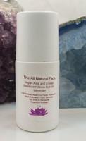 Lavender  Roll On Aloe Liquid Crystal Deodorant