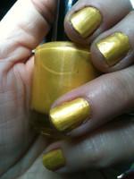 Pulsar Yellow Nail Polish