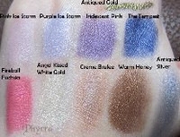Pressed Vegan Mineral Eyeshadow - Angel Kissed White Gold