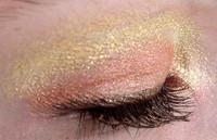 Pressed Vegan Mineral Eyeshadow - Just Peachy