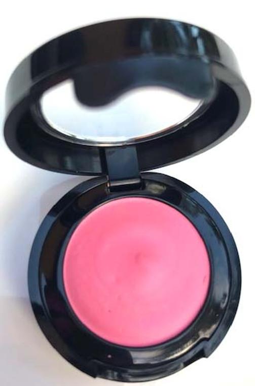Long Wear Cream Vegan Mineral Eye Shadow - Fireball Fuschia