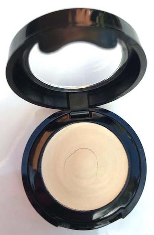 Long Wear Cream Vegan Mineral Eye Shadow - Angel Kissed White Gold