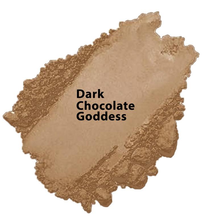 Dark Chocolate - Dark Chocolate Goddess Vegan Mineral Foundation