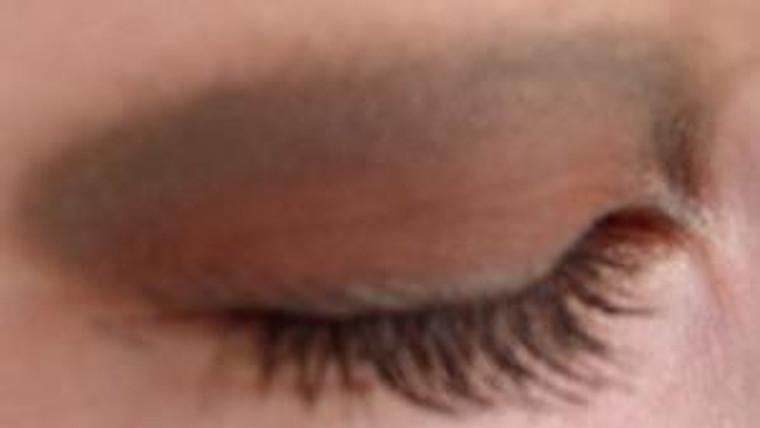 Vegan Mineral Eyeshadow - Warm Brown