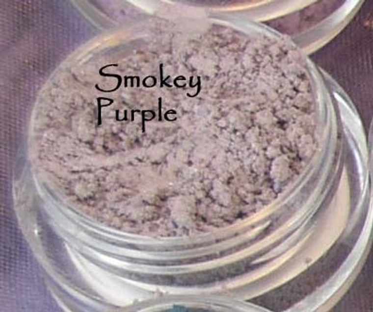 Vegan Mineral Eyeshadow - Smokey Purple