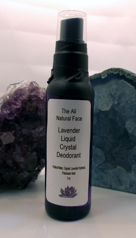 Spray On Liquid Crystal Deodorant Lavender