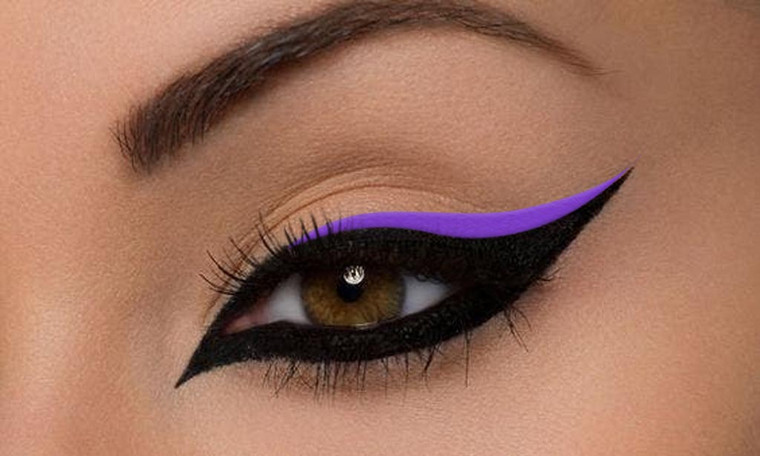 Vegan Gel Eyeliner Screaming Purple