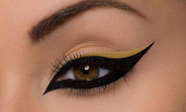 Vegan Gel Eyeliner Antique Gold