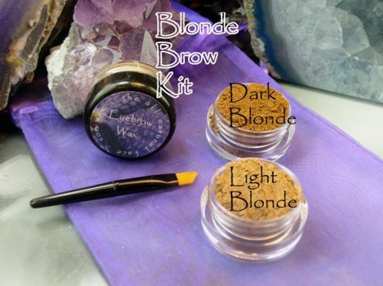 Vegan Mineral Blonde Brow Powder Kit