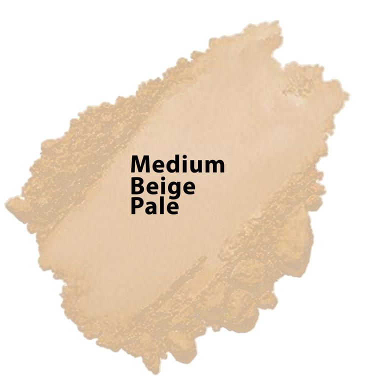 Honey Beige - Medium Beige Pale Vegan Mineral Foundation