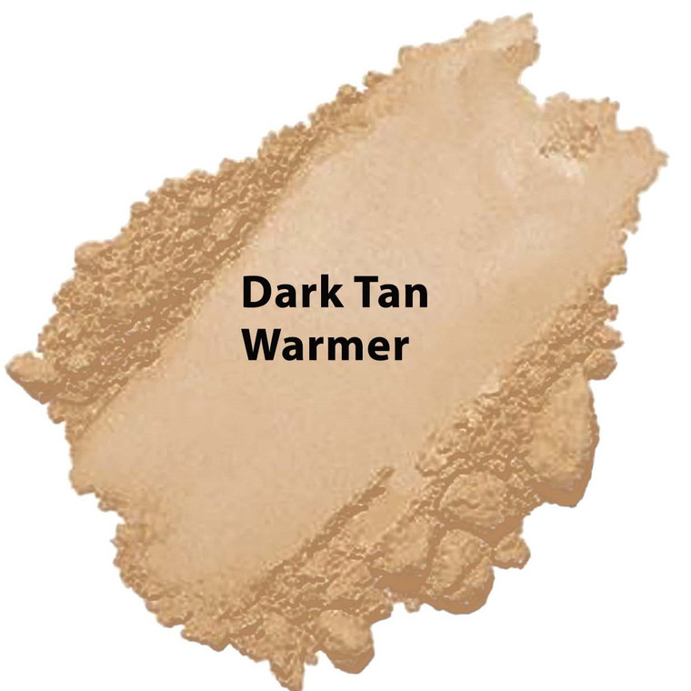 Cool Tone - Dark Tan Warmer Vegan Mineral Foundation