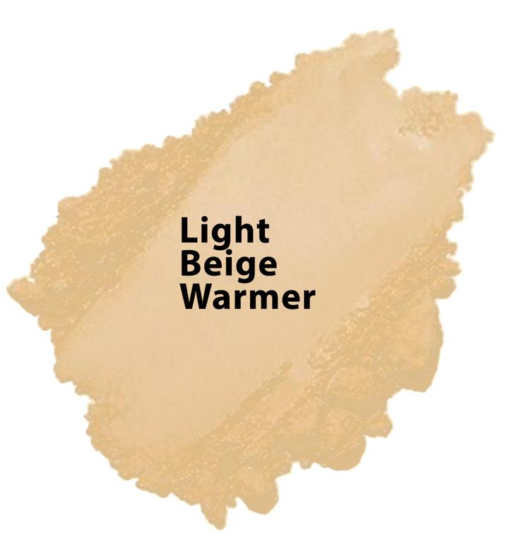 Golden Beige - Light Beige Warmer Vegan Mineral Foundation