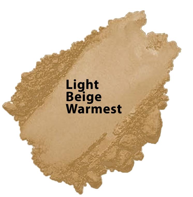 Golden Beige - Light Beige Warmest Vegan Mineral Foundation