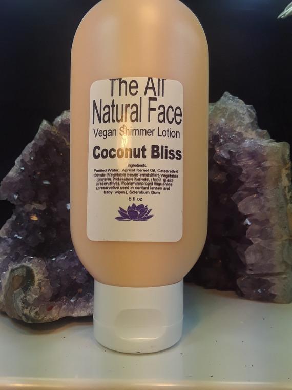 Vegan Coconut Bliss Shimmer Lotion