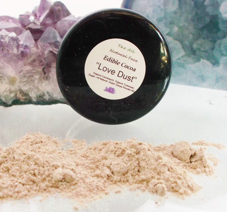 Vegan Edible Love Dust in Cocoa Sparkle