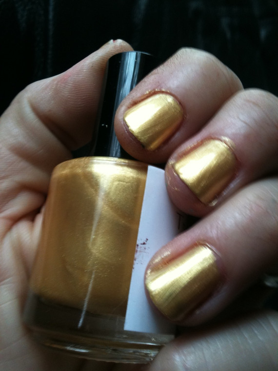 True Gold Nail Polish