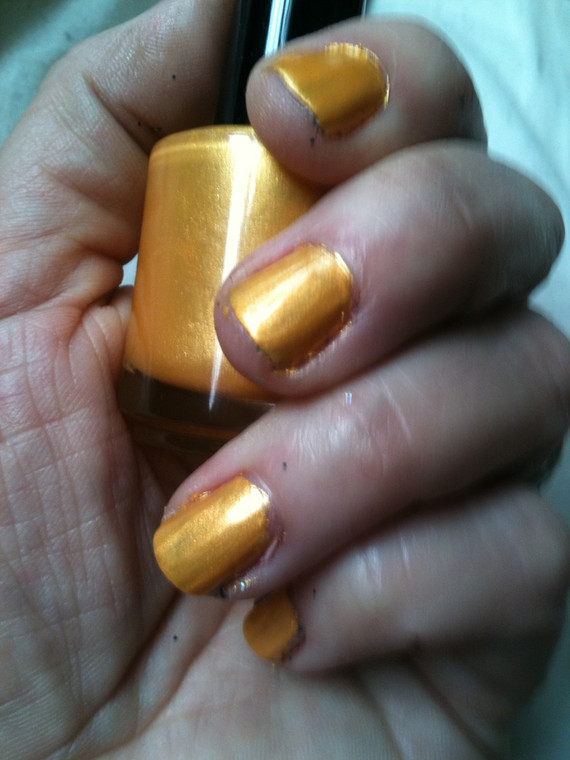 Sunflower Nail Polish