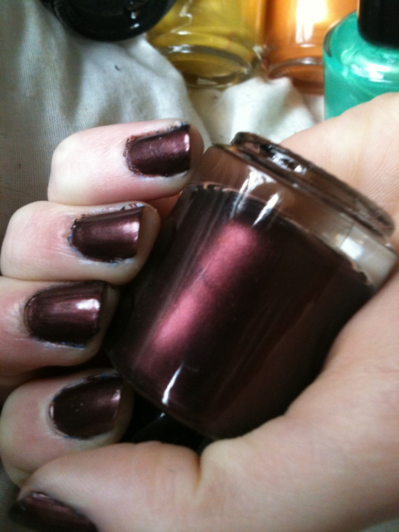 Midnight Plum Nail Polish