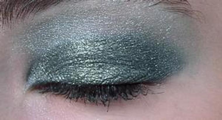 Pressed  Vegan Mineral Eyeshadow - Deep Sea Green