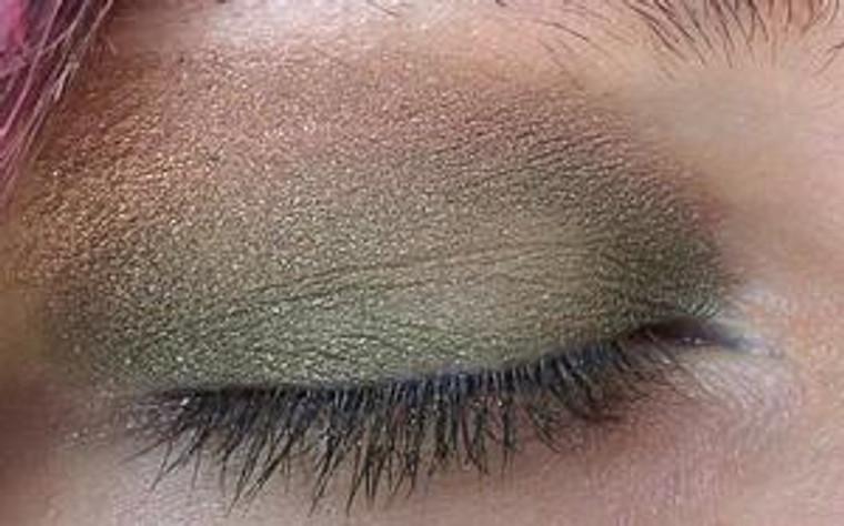Pressed Vegan Mineral Eyeshadow - Olive U