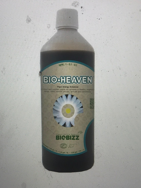Bio-Heaven is a specially-formulated and highly-concentrated plant energy booster which contains carefully-selected biological stimulants such as amino acids. It improves yield and quality of the harvest by improving moisture retention as well as reducing moisture stress. Bio-Heaven also stimulates plants' enzymatic systems to increase plant respiration, and to rapidly and completely take up key nutrients.