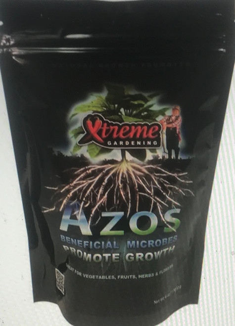 Azos is a naturally occurring bacteria that promotes plant growth. Azos converts nitrogen into a usable form that is readily available to the plant. Nitrogen is critical for forming vegetative matter and supporting abundant growth. Azos promotes growth, while boosting natural root development.  Beneficial Bacteria ... Azospirillum brasilense ... 1,000,000 CFU/g Natural Growth Promoter Use for Rooting Cuttings & Transplants Great for Vegetables, Fruits, Herbs, Flowers and more!