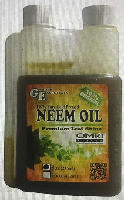 A Neem Oil Leaf Shine that mixes easily with water.
