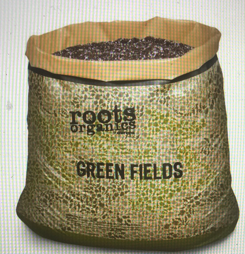 ROOTS ORGANICS ORIGINAL POTTING SOIL  Roots Organics Original is a ready to use mix created with a balanced air to water ratio of porosity and water retention to allow for frequent feeding of fast growing, heavy feeding plants. For exceptional results, feed with high quality nutrients, such as the Roots Organics fertilizer line.  Roots Organics soil bags double as pots – just cut the top off, drop the plant in, and you're ready to go!  INGREDIENTS Perlite, Coco Fiber, Peat Moss, Composted Forest Material, Pumice, Worm Castings, Bat Guano, Soybean Meal, Alfalfa Meal, Fishbone Meal, Kelp Meal, and Greensand. Also contains beneficial mycorrhizal fungi: Funneliformis mosseae, Rhizophagus intraradices, Septoglomus desertícola to enhance uptake of plant nutrients, increase root biomass, and help container grown plants resist stress