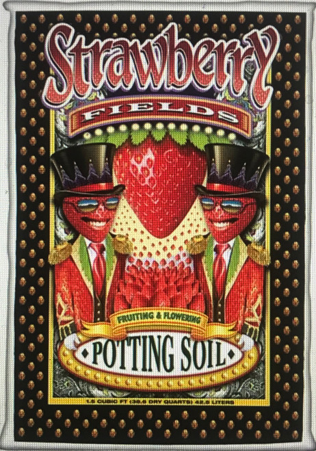 Strawberry Fields Fruiting & Flowering Potting Soil is designed to pump up your blooms, fruits and berries with no hang-ups. Brought to you directly from the Flower Children of the Sixties and Seventies—the Old School generation. Love, Peace and Happiness is in FoxFarm's hearts and that is exactly what they pour into every bag of Strawberry Fields. Out-A-Sight!