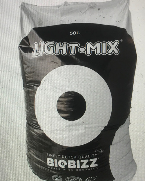 LIGHT-MIX Substrates  Light-Mix is the ideal substrate for organic farmers who wish to have control in the growth of their plants through the application of liquid fertilizers (from the very beginning). For any kind of plant, including heavy feeders, larger quantities of fertilizers may be given on demand without the fear of overloading the soil and causing a nutrient burn.  great for starting seeds