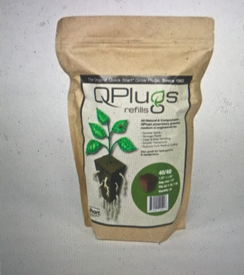 QPlugs aerated, water-holding texture was designed to start clones and seedlings in propagation trays. QPlugs are engineered to be transplanted into soil, rockwool, coco, or other standard growing substrates. These propagation plugs are ideal for commercial growers, and also offer ease of use for home gardeners.  QPlugs, with their stabilized growing media, will allow you to inspect, move or automate without damaging the plant.   Most growers have their own requirements. Not one size fits all. That's why these are offered in round plugs and square cubes. Square QPlugs are available in 50 count and 100 count bags, and the round QPlugs come in bags of 72.  QPlugs provide more air porosity for better roots and provide more water control than anything else on the market. Better roots equal healthier plants.  Proven to stimulate more root growth!