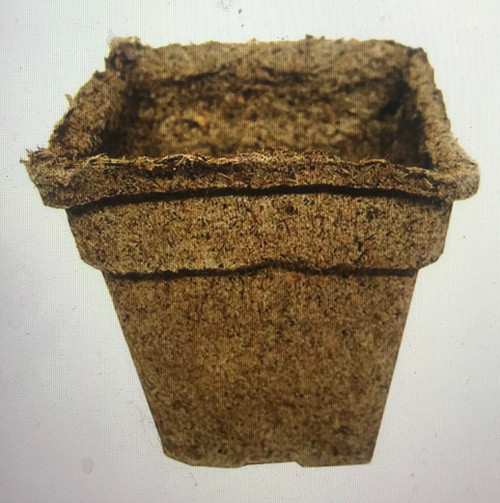 """Eco-friendly CowPots™ are a terrific alternative to peat pots for use in seed starting and growing seedlings. CowPots™ are made from composted cow manure. They are odor-free, biodegradable, and can be transplanted into the soil with your plant. The #3 Square is the perfect size for any annual seed start - flowers, vegetables and herbs.  Dimensions: 3"""" x 1-7/8"""" x 2-7/8"""""""