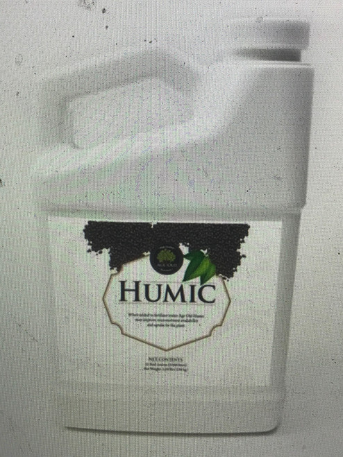 Humic acid   Improves uptake and availability of micronutrients to the plant and conditions the soil, helping provide a friendly environment for soil microbes. Improves seed germination and root development.      Increases the movement and availability of compounded nutrients in soil     Increases beneficial microbial activity in soil for maximum nutrient uptake     Supports seed germination     Improves soil structure and tilth
