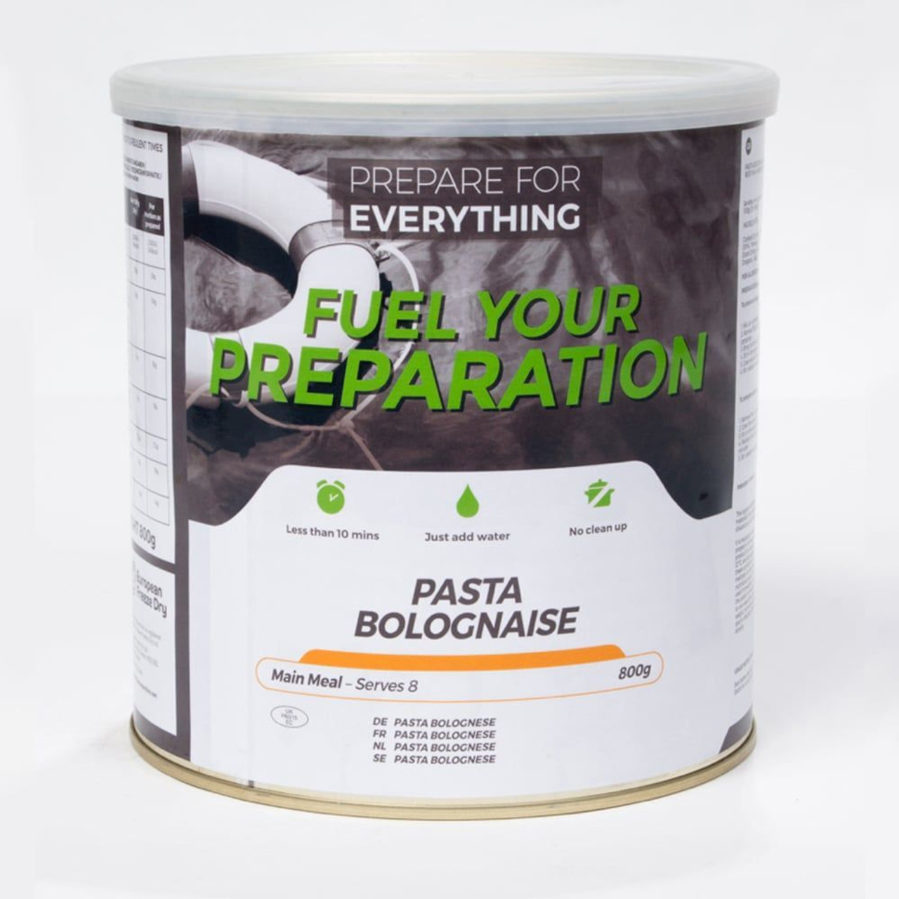 Pasta Bolognaise Freeze Dried Tin