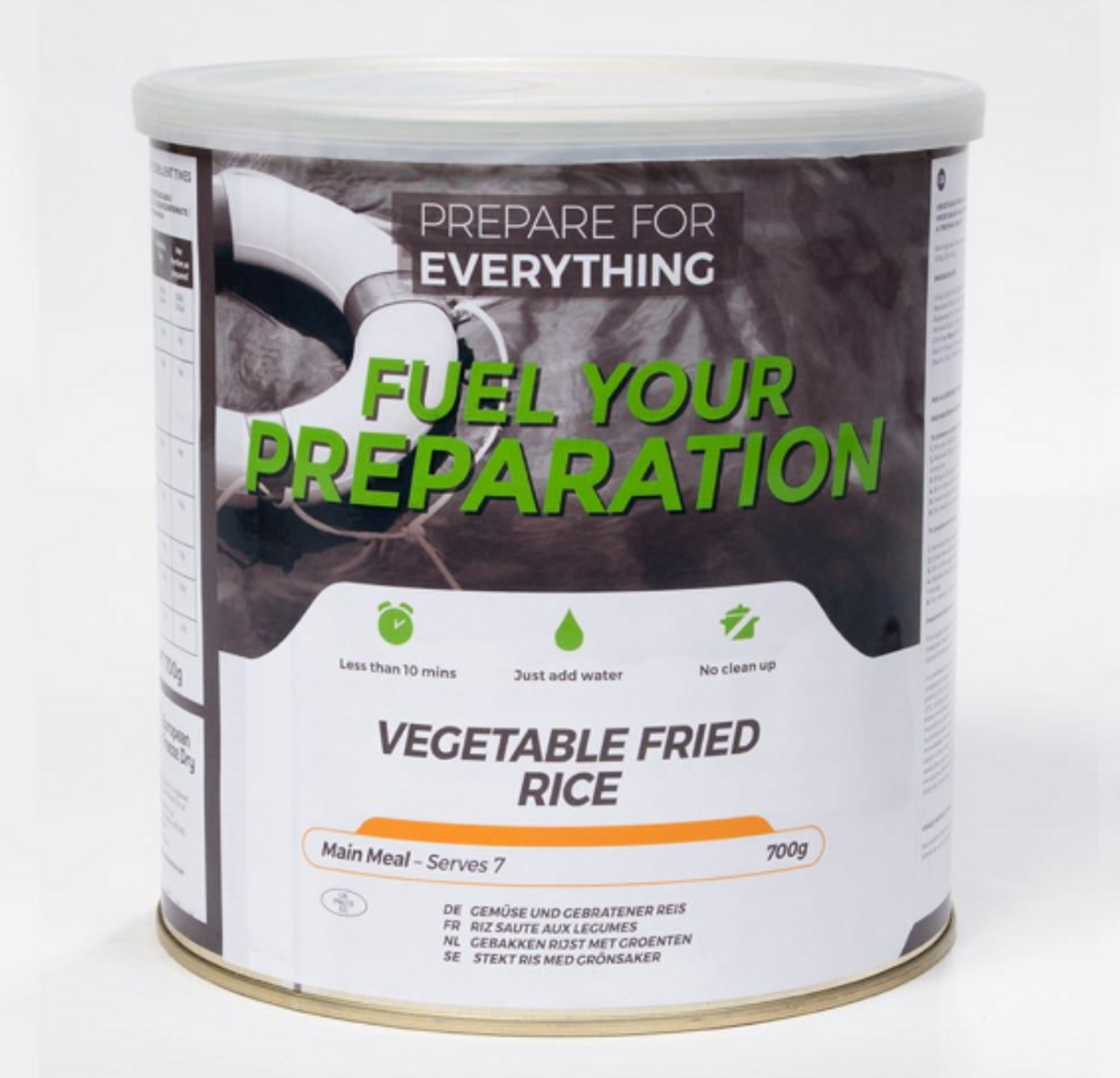 Vegetable Fried Rice Freeze Dried Tin