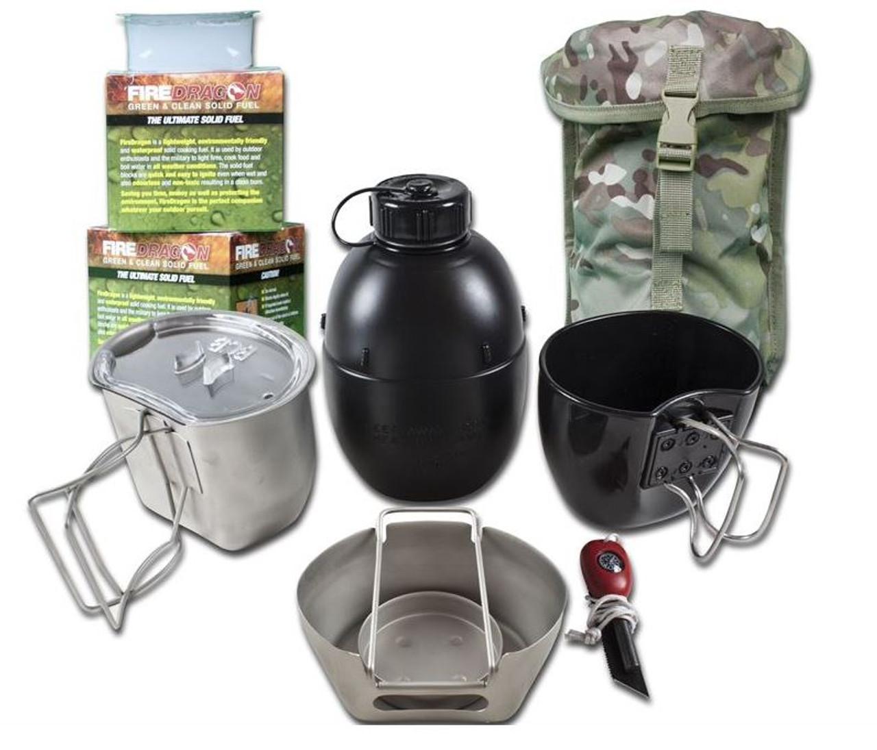 The Crusader Cooking System I (6 Piece Set)