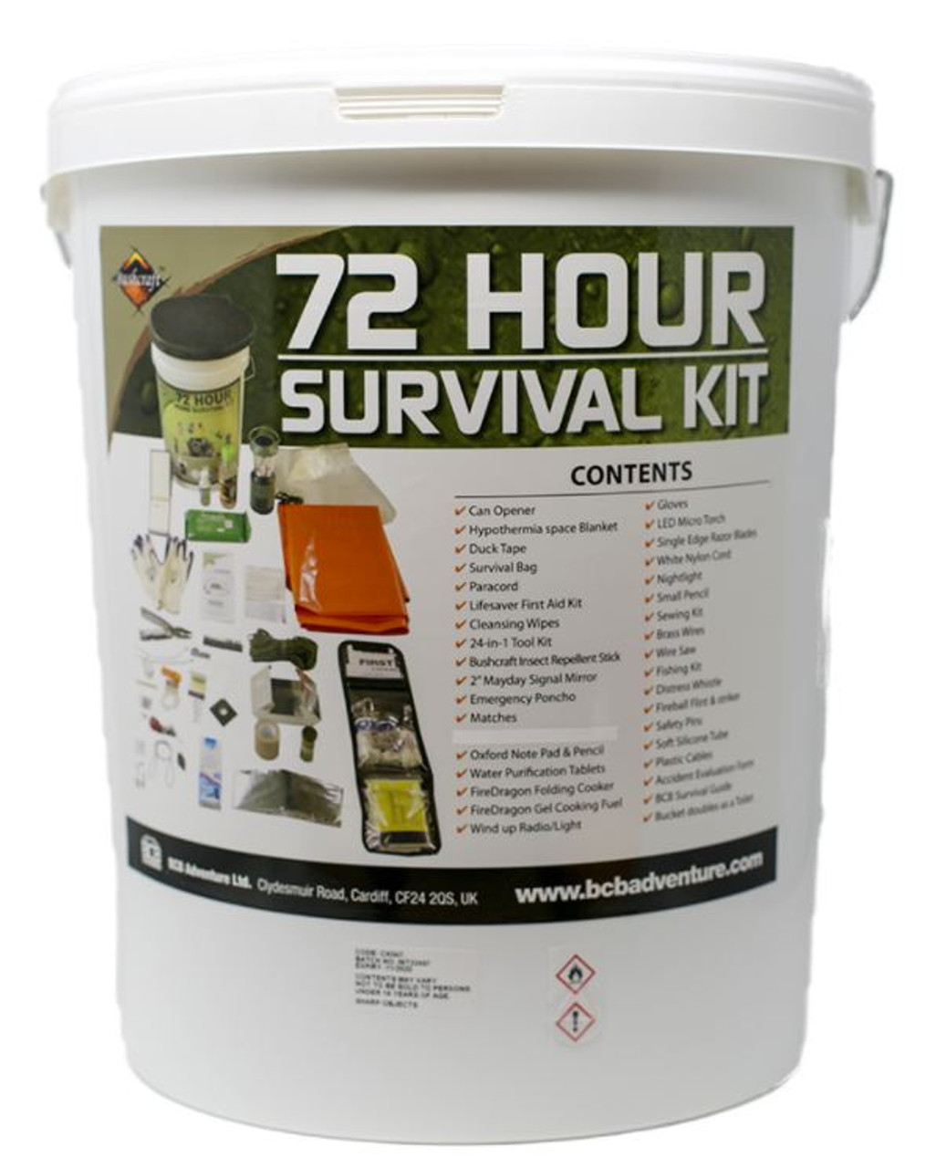 72 Hour Home Survival Kit