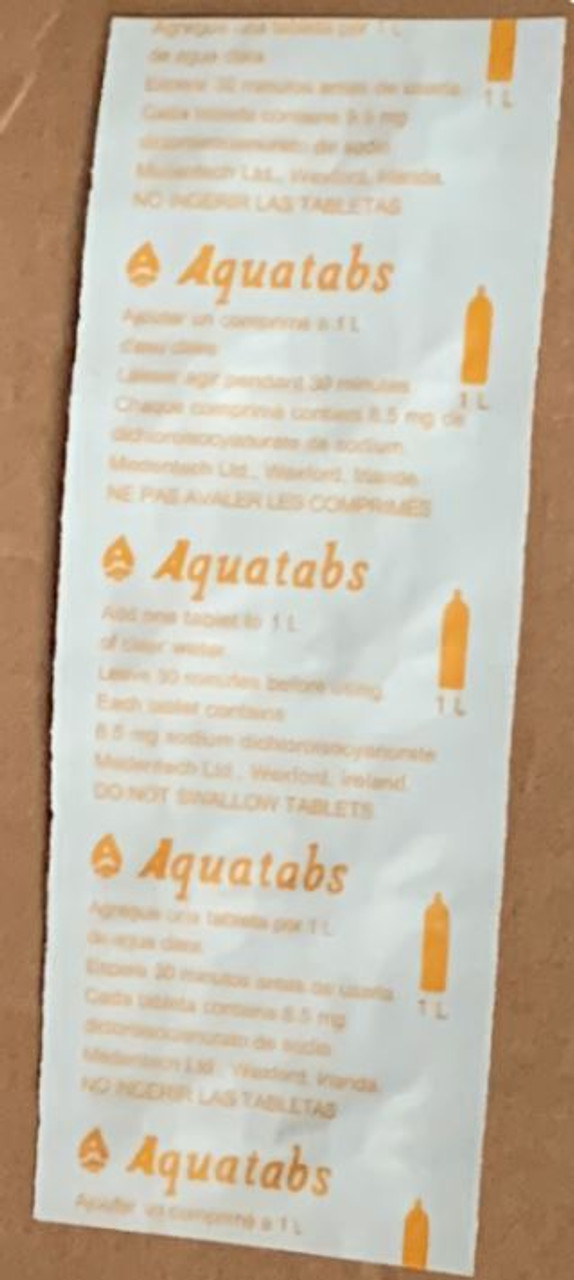 Water Purification Tablets (50 Tablets)