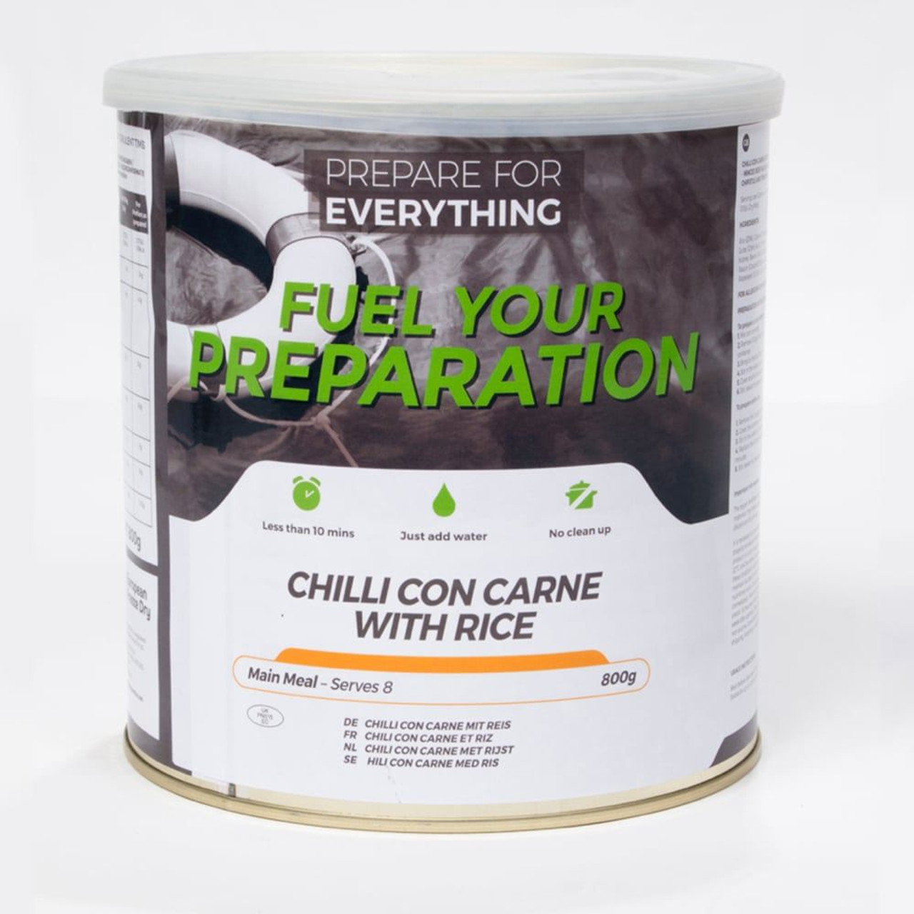 Chilli Con Carne Freeze Dried Tin
