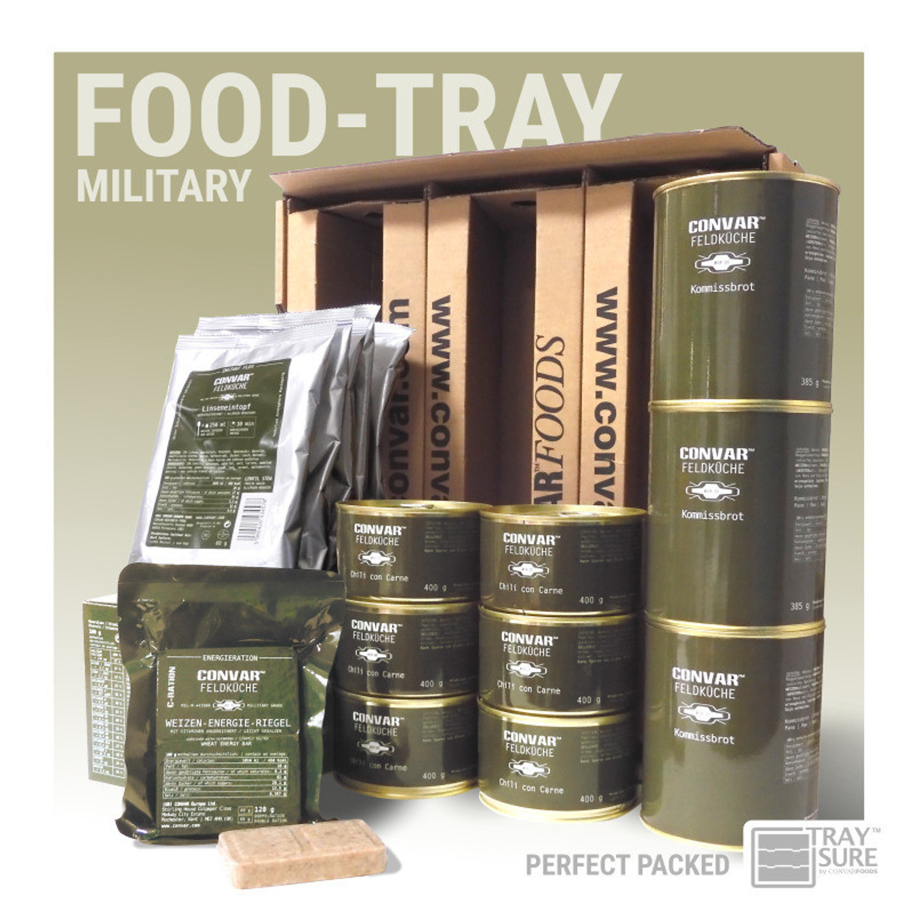 Convar Military Food Tray 10 Years