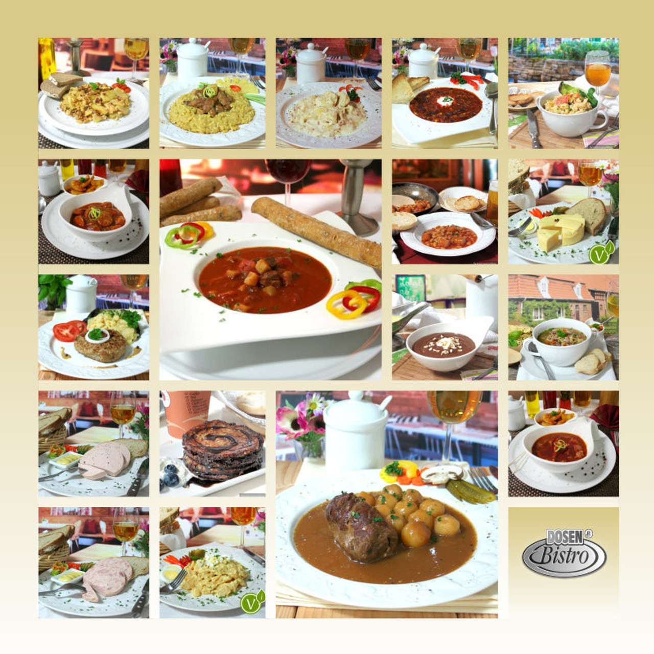 Convar Food Tray - Lunch Meals 10 Years