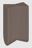 Hoffmann Dovetail Key, W-2, dark walnut color