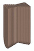 Hoffmann Dovetail Key, W-2, walnut colored plastic