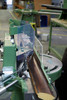 Close-up 1 - MORSO EFG electric miter cutting machine - 220 volt - 3 phase (N20095-3P)