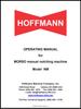 Hoffmann Morso NM Operating Manual