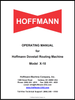 Operating Manual for Hoffmann X-10 dovetail routing machine