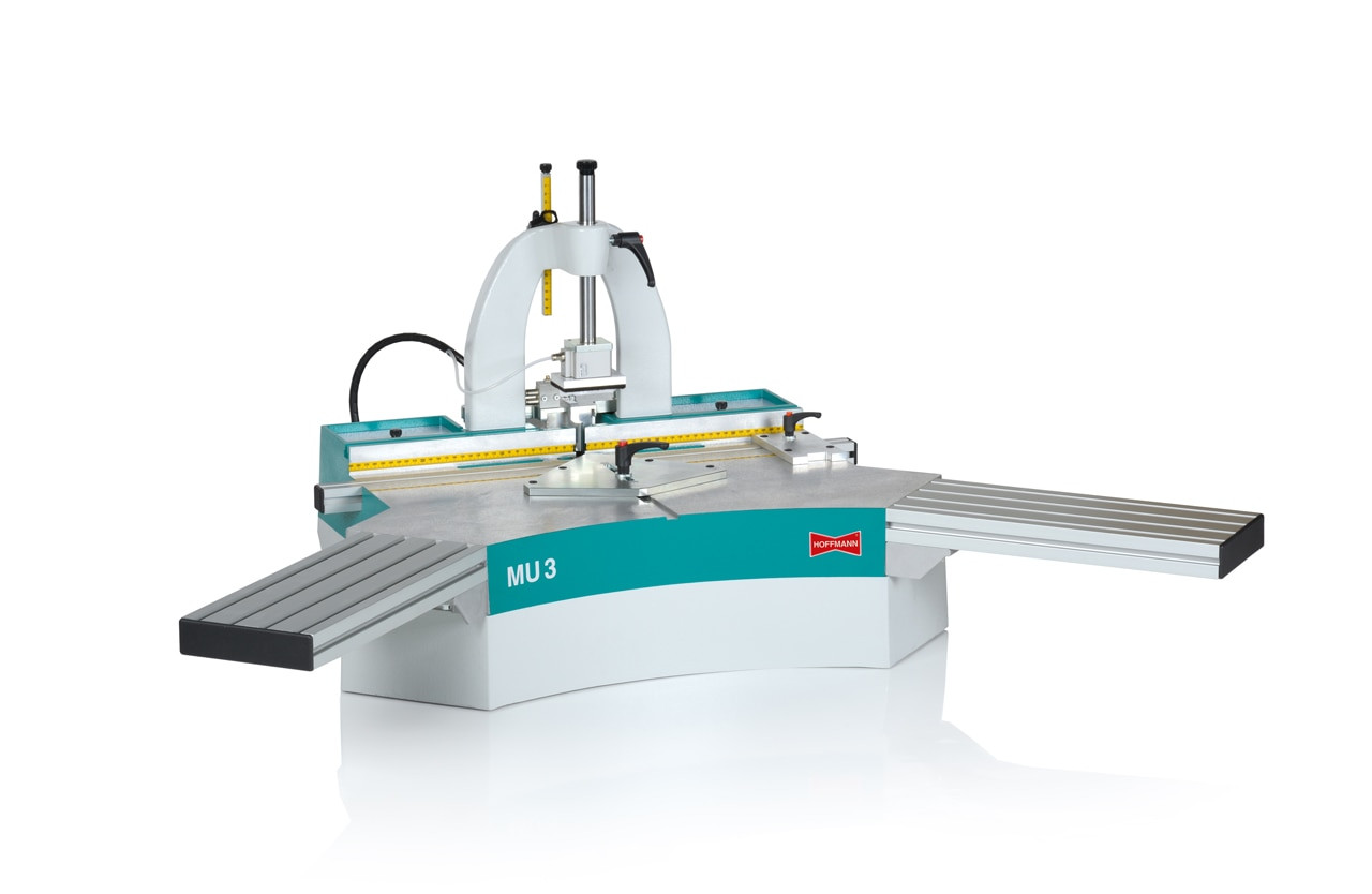 Hoffmann MU3-P Pneumatic Dovetail Routing Machine
