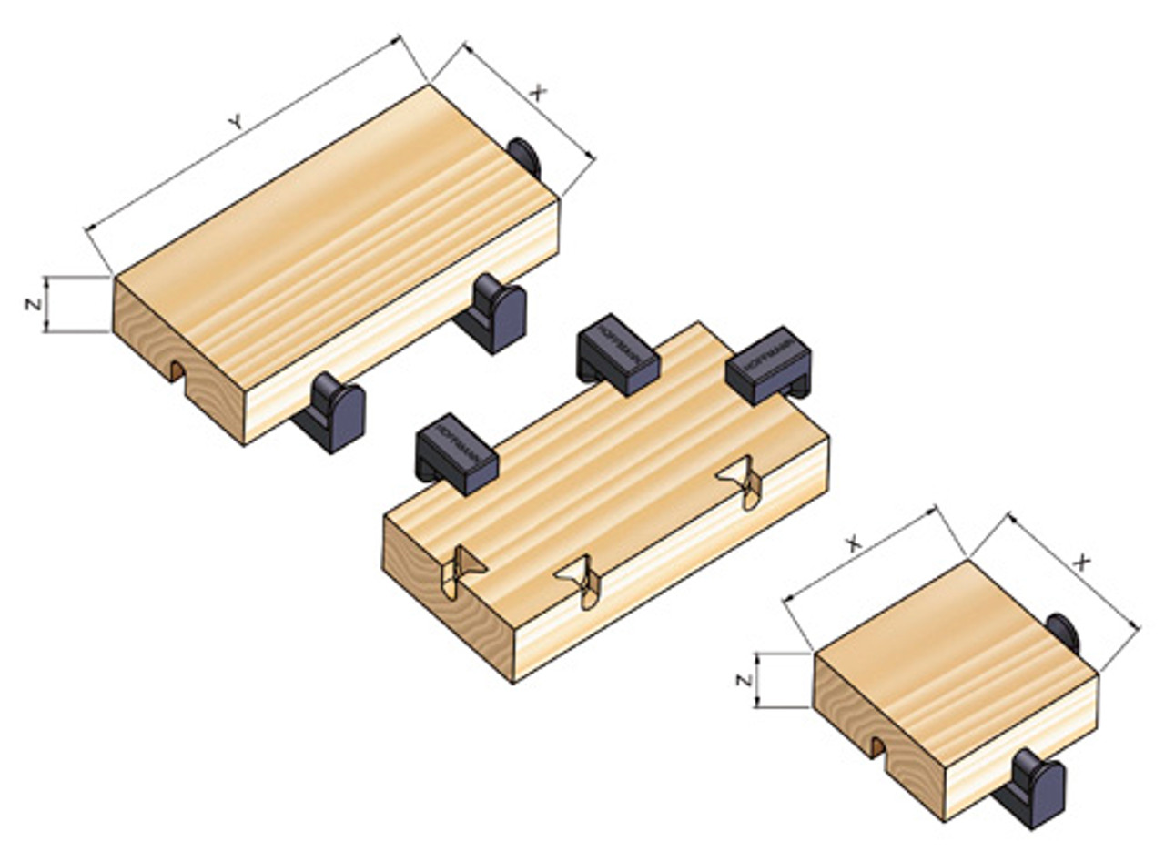 Carbide tipped router bit for FoX Flooring Keys, 8mm shank
