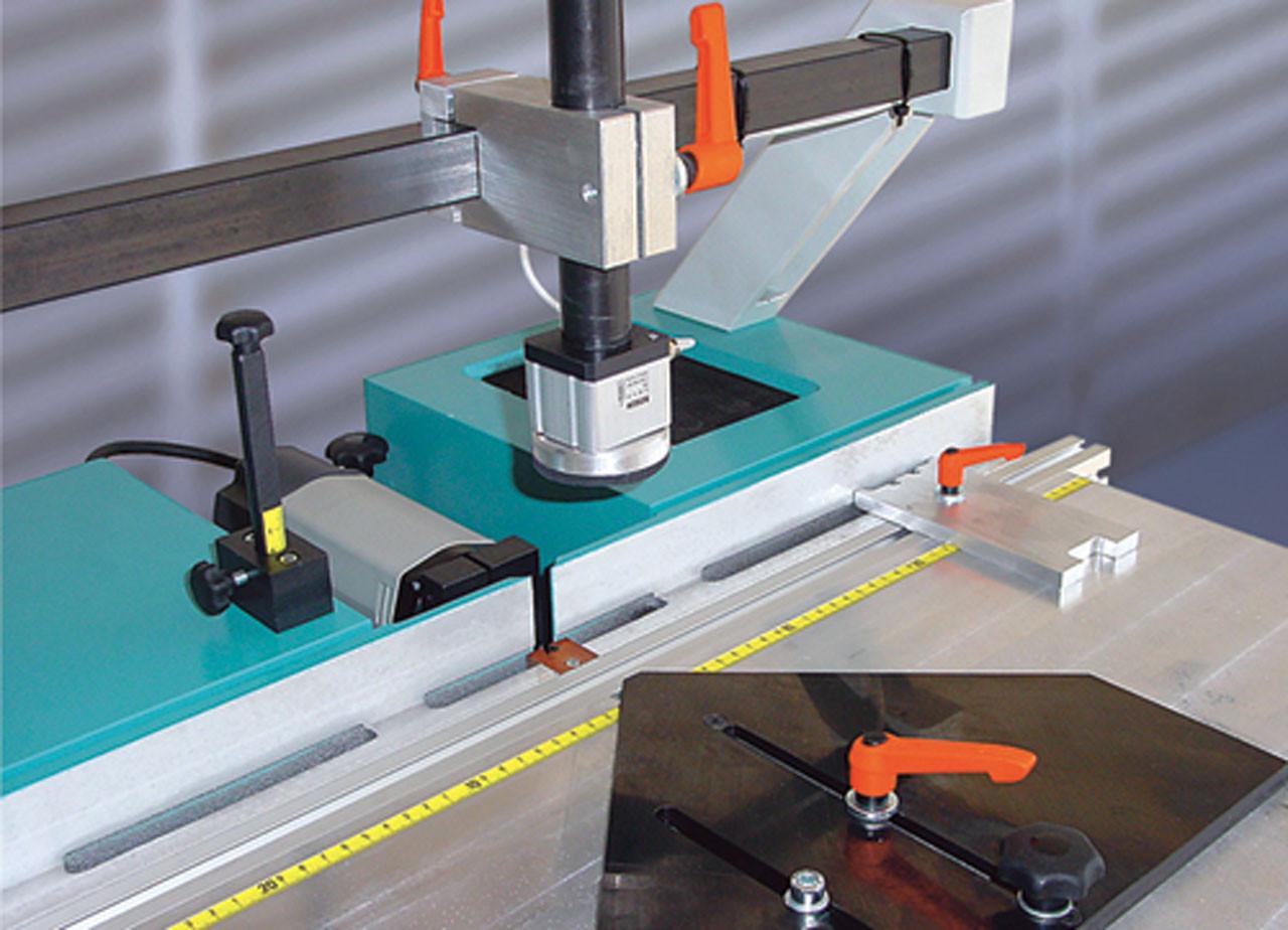 Hoffmann PU2 - machine table detail